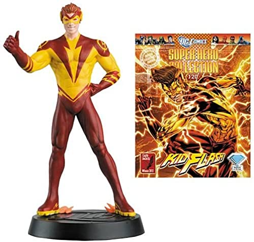 DC SUPERHERO Kid Flash Collector Zeitschrift with steht