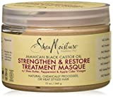 Shea Moisture Jamaican Black Castor Oil Strengthen Grow & Restore Treatment Masque 340g