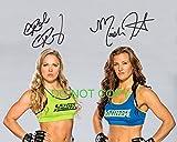 Miesha Tate & Ronda Rousey sexy signed reprint...