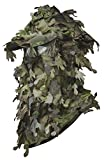 North Mountain Gear Hunting Camouflage Leafy Hat with Full 3D Face Mask Ghillie Paintball ...