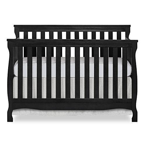 Affordable Dream On Me Keyport 5 in 1 Convertible Crib in Dark Brown