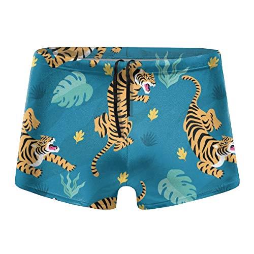 Bbhappiness Vintage Tiger Pattern Men