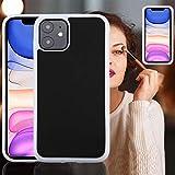 YANCAI Funda Protectora for el iPhone 11 de TPU + PC antigravedad Dropproof de protección Cubierta Posterior (Negro) (Color : White)