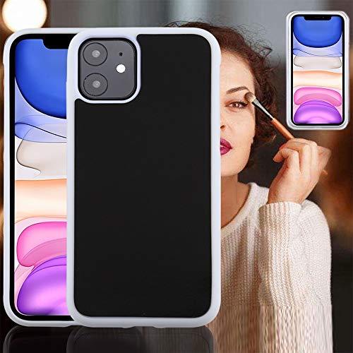 GUODONG Cabina telefonica for iPhone 11 TPU + PC Anti-Gravity Dropproof Protettiva Cover (Nero) Cover Posteriore per Smartphone (Color : White)