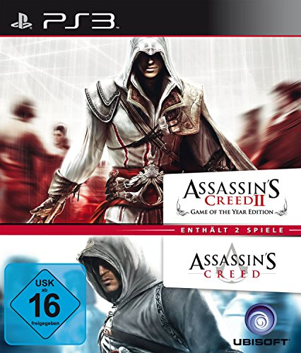 Assassin's Creed 1 & 2 - Doppel Pack PS3