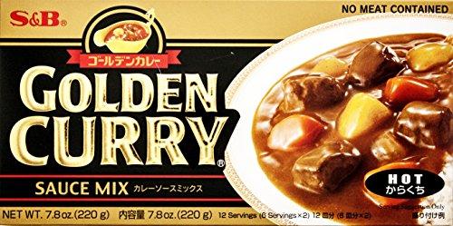 S&B Golden Curry Sauce Mix, Mild, 7.8 Ounce