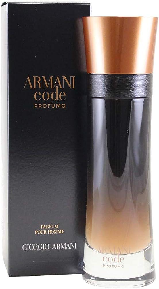 Giorgio armani code, profumo, uomo, 110 ml,eau de parfum da uomo 3614270581670