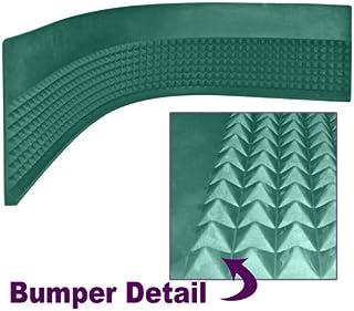 Trademark Poker Craps Diamond Pyramid Bumper Rubber