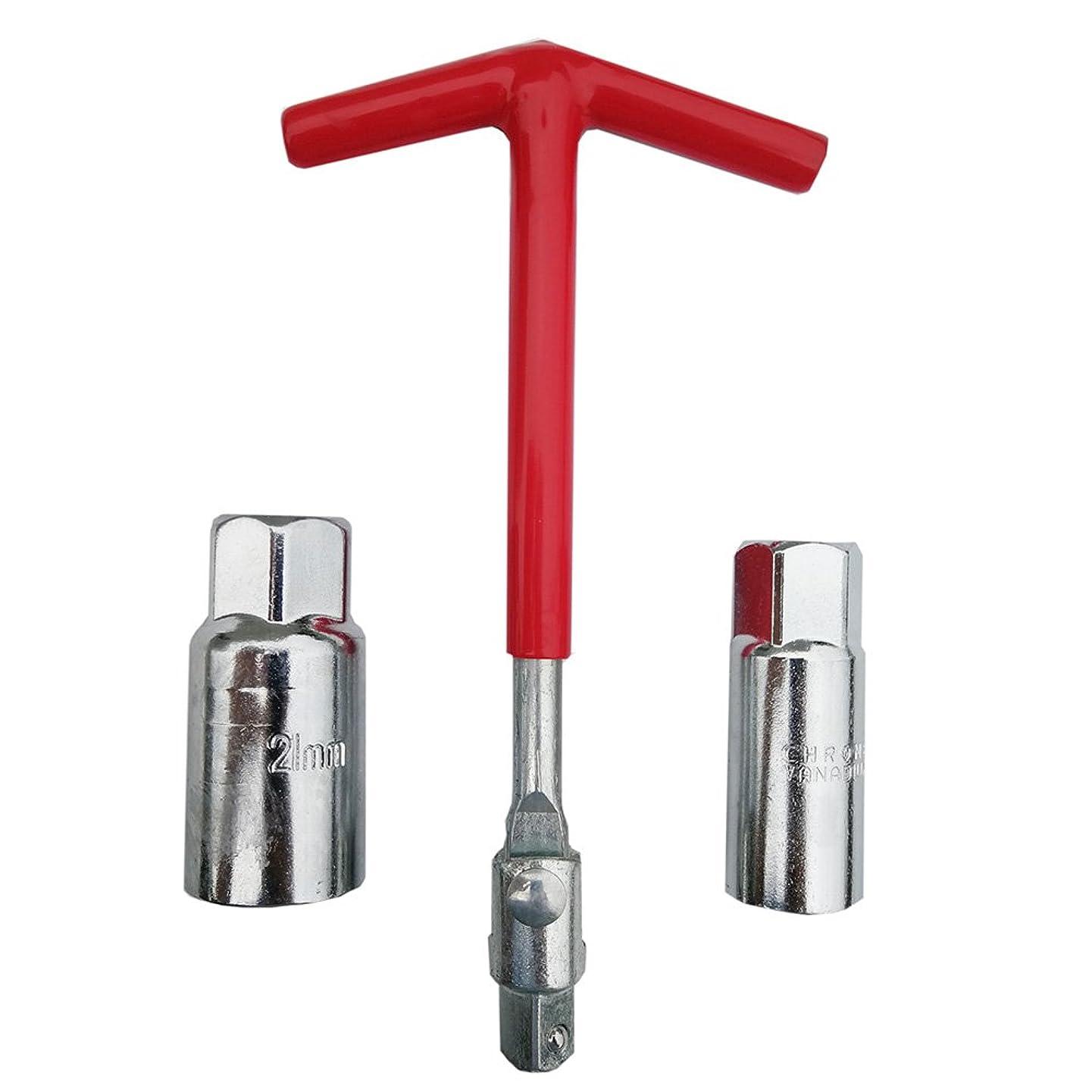 Hetai T-handle Universal Joint Spark Plug Remover Installer Set 5/8