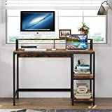 Tribesigns Computer Desk Industrial Writing Desk for Study, Computer Workstations PC Desk Table