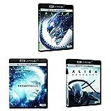 Pack Alien - Incluye: Alien + Prometheus + Alien Covenant Blu-Ray 4k Uhd [Blu-ray]