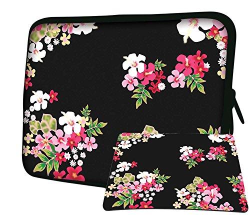 LUXBURG 12,1 Zoll Notebooktasche Laptoptasche Tasche aus Neopren Schutzhülle Sleeve für Laptop/Notebook Tablet Plus Free Mouspad! Für Apple, Acer, Chromebook, Dell, HP, Lenovo, Samsung, Sony Laptop