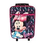 Prodotto ufficiale Disney. Disney Minnie D97694 Valigia Per Bambini, Trolley Da Cabina, 53 Centimetri, 25 Litri, Multicolore