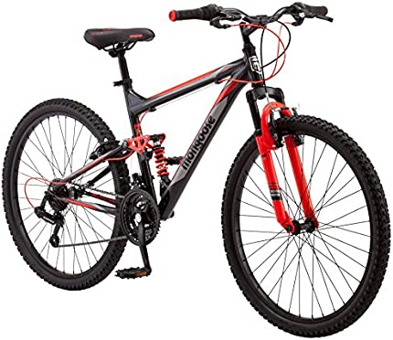 "Bicicleta Mongoose Status 2.2 Mountain Bike, para hombre, rueda de 26"""