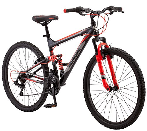 "Mongoose Status 2.2 26"" Wheel Men's Bicycle, 18""/Medium Frame Size, Black (R5500B)"