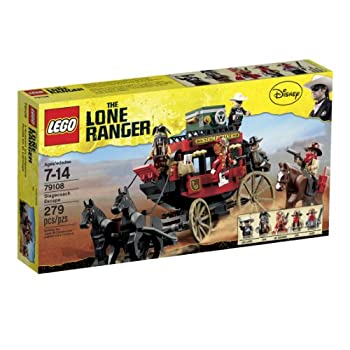 LEGO The Lone Ranger Stagecoach Escape  79108