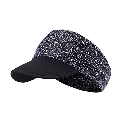 hikevalley Yoga Headband - Unique Design Women UV Protective Sun Visor (EV08)