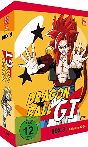 Dragonball GT - Box 3/Episode 42-64 (4 DVDs)