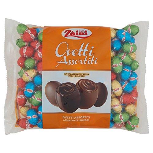 Zaini Ovetti di Cioccolato Assortiti - 4 Confezioni da 1000 g (4kg)