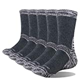 Xiaobing 5 Paar Baumwollsportsocken für Herren und Damen Leichtathletik-Wandersocken halten warm...