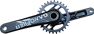 GANOPPER MTB Crank Set 11s 30T 32T 34T 36T Narrow Wide Gear Chainring Forged Road Track Bicycle Crankset with Thread Bottom Bracket BB