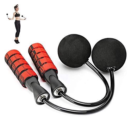 HOOMAGIC 2020 Neues Upgrade Springseil Speed Rope Erwachsene Drahtlos Profi Seilspringen mit doppelten Stahl Kugellagern Anti-Rutsch Griffe für Training und Fitness, Bewegung für Erwachsene Kinder