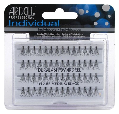 Ardell Duralash Flare Medium Black (56 Lashes) (3-Pack) by Ardell