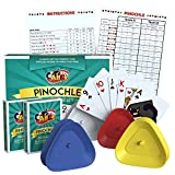 Pinochle Card Game Gift Set