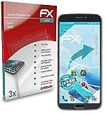 atFolix Schutzfolie kompatibel mit Doro 8080 Folie, ultraklare & Flexible FX Bildschirmschutzfolie (3X)