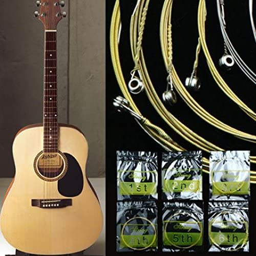 giveyoulucky Set Max 55% OFF of 6 Steel Strings Acoustic Guitar Super sale period limited 150XL for 10