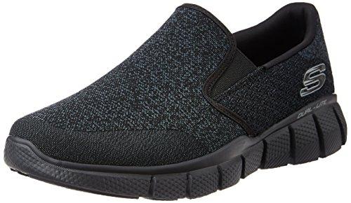 Skechers Skechers Herren Equalizer 2.0 Sneaker, Schwarz (Bbk), 45.5 EU