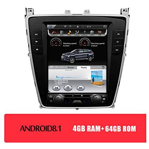10,4-Zoll-Android 8.1 GPS Navigator Für Bentley Flying Spur Super 2012-2019 Mit WIFI/Bluetooth/Lenkrad-Steuerung/Überwachung Des Reifendrucks/Handy-Verschaltung,4+64gb