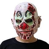★ Materiale: Realizzato in lattice naturale al 100%, ecologico e non tossico. ★ Dimensioni: la maschera è abbastanza spaziosa per ogni bambino e adulto. Traspirante attraverso la bocca e le narici della maschera. ★Occasione: festa in costume di Hallo...