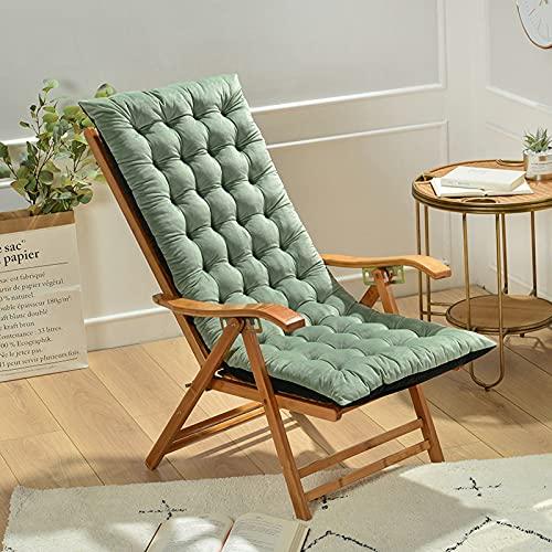 Miaoleie - Cuscino per sedia a dondolo, 124,5 x 50,8 x 10,2 cm