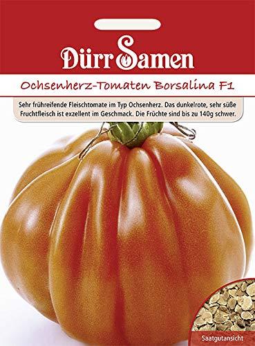 Dürr Samen Ochsenherz-Tomaten Borsalina F1 8 Korn 1971