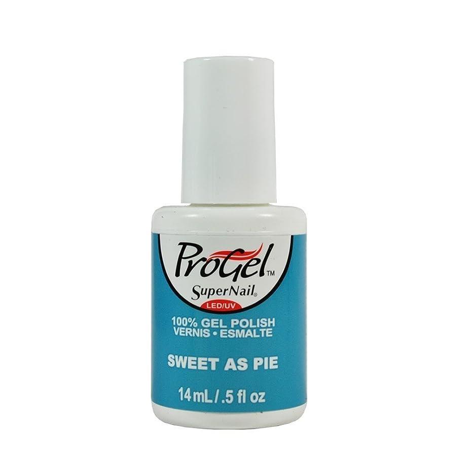とまり木交渉する取り戻すSuperNail ProGel Gel Polish - Sweet as Pie - 0.5oz / 14ml