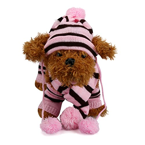 Great Features Of GOTOCO. Stylish Dog/Cat Clothes Accessories, Winter Warm Pet Apparel for Puppies/K...