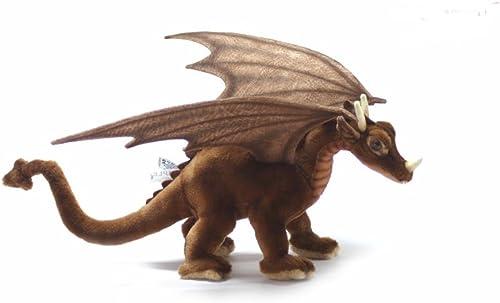 diseño simple y generoso Juguete De Peluche Estupendo Estupendo Estupendo Dragón by Hansa. 30cm 5085  mejor oferta