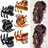 lazz1on clip per artigli per capelli di medie dimensioni accessori per lo styling dei capelli in 1,3 pollici per donne ragazze