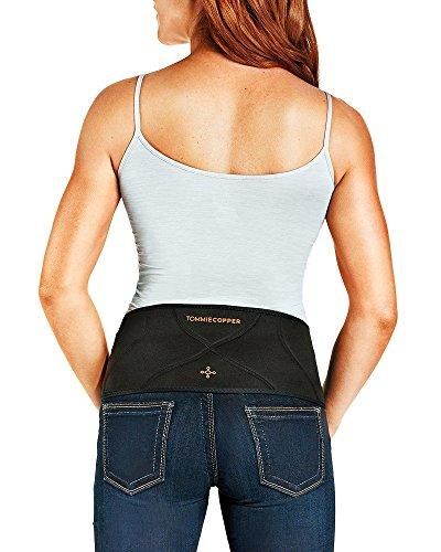 Tommie Copper - Women's Comfort Back Brace - Black - Small/M