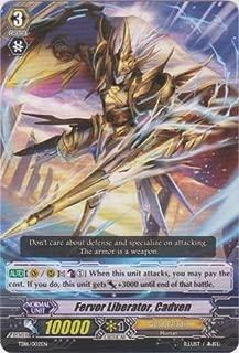 Cardfight!! Vanguard TCG - Fervor Liberator, Cadven (TD16/002EN) - Trial Deck 16: Divine Judgement of the Bluish Flames by Cardfight!! Vanguard TCG