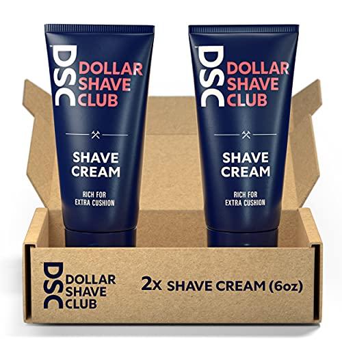 Dollar Shave Club Shave Cream, Blue, 12 Fl Oz, 2 Count