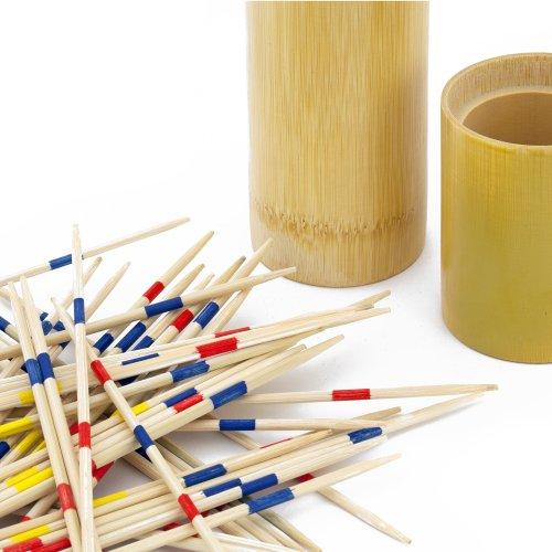 in legno Mikado Scegliere Fino Bastoncini Set in bambù tubo