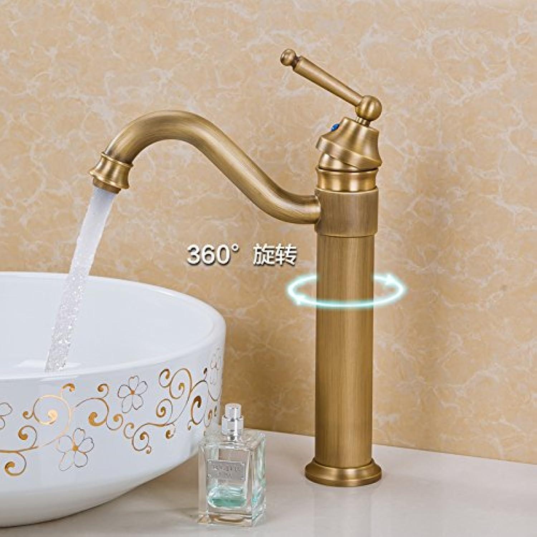 SHLONG Tap European Faucet Hot and Cold Bathroom Basin Copper Faucet
