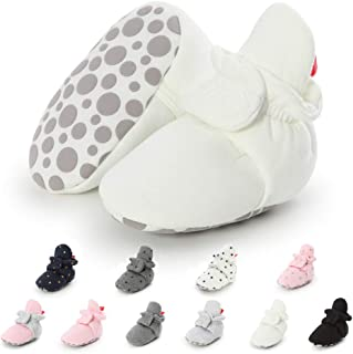 Newborn Infant Baby Girls Boys Warm Fleece Winter Booties First Walkers Slippers Shoes