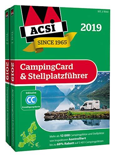 ACSI CampingCard & Stellplatzführer 2019 inkl. Ermäßigungskarte
