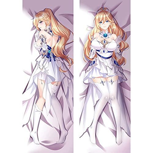Hot 2021 New Honkai Impact Anime Cuerpo Funda almohada Dakimakura Sexy Beauty Patrón Hentai de doble cara abrazos Larga cojín Almohada Cubierta Hogar Sofá Halloween Decoración de Navidad Regalo