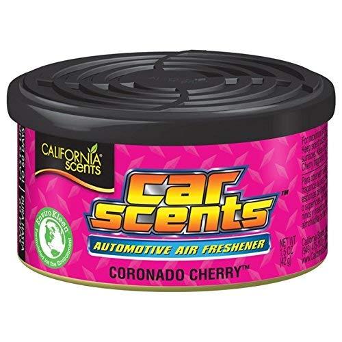 California Car Scents CCS-446TR Concord arándano Ambientador, Aroma a arándano, 4 unidades