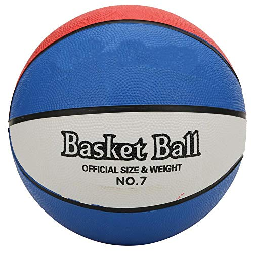%25 OFF! Rubber Basketball, Three Color Size 7 Standard Professional Game Basketball Students Traini...