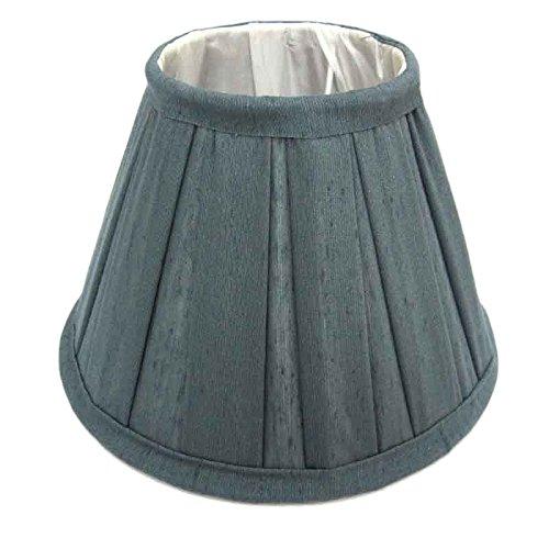 Better & Best lampenkap van zijde, breedte plaat, 50 cm, grijs